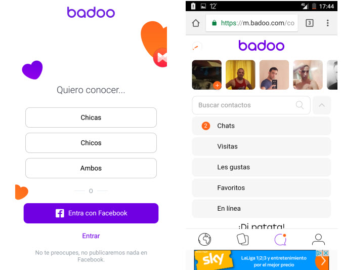 badoo gratis
