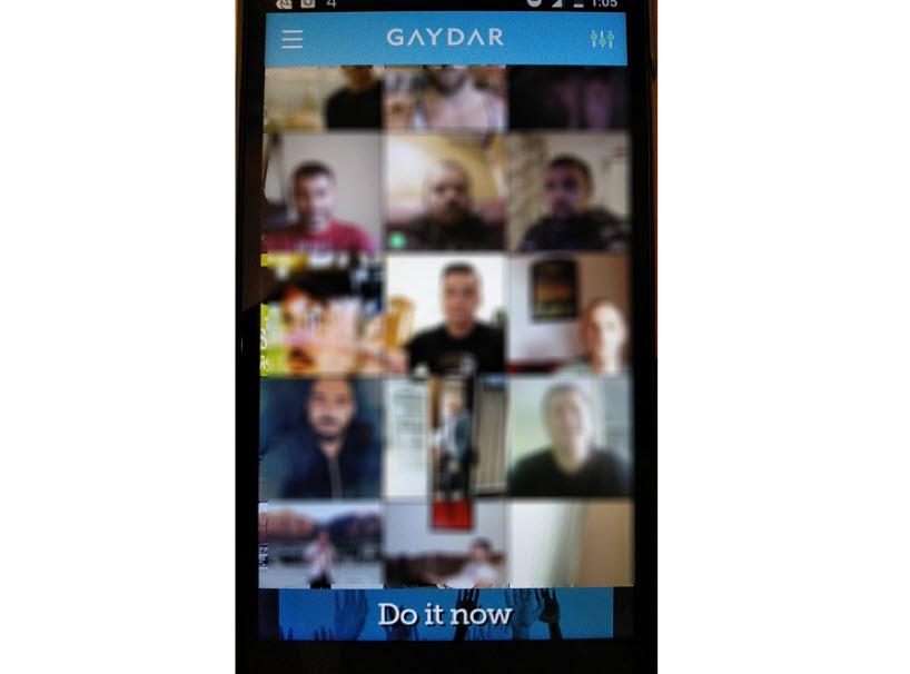 como funciona Gaydar
