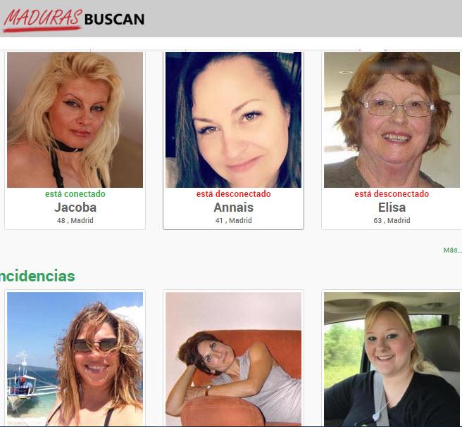 webs de mujeres maduras para ligar