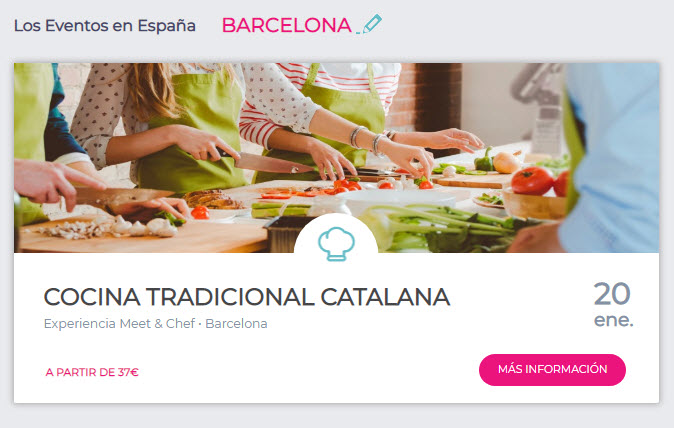 eventos meetic Barcelona