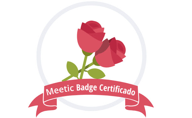 meetic badge