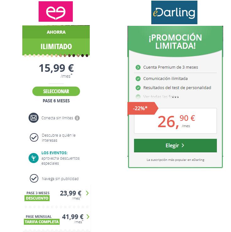 precios meetic o edarling