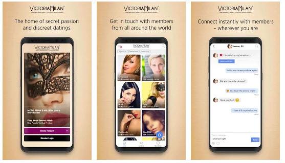 app Victoria Milan en español